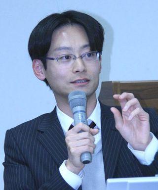ロボット研究会 山崎氏