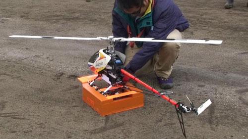 キャリオ技研、災害探査ロボット